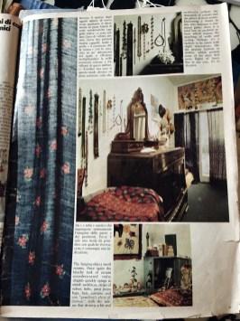 La casa di Ulla su 'Abitare' del 1974