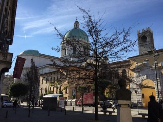 Il Duomo da via Mazzini. Brescia