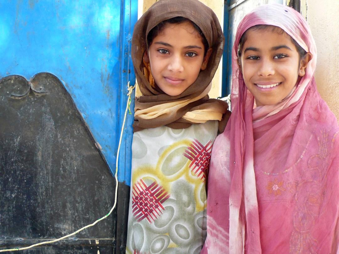Dal mio viaggio in Oman- bambine di Nakhal