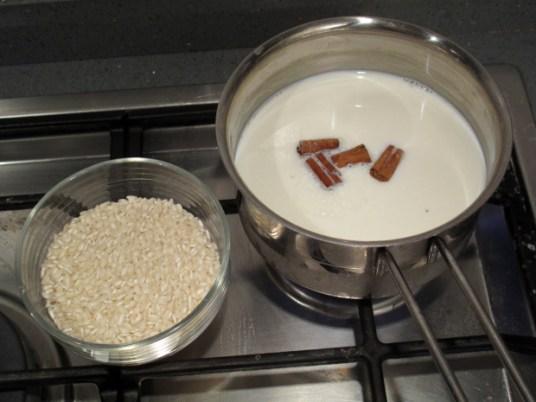 La torta di riso, cottura
