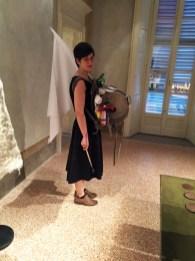 Fashion as Social Energy_Zaino itinerante di Nasan Tur