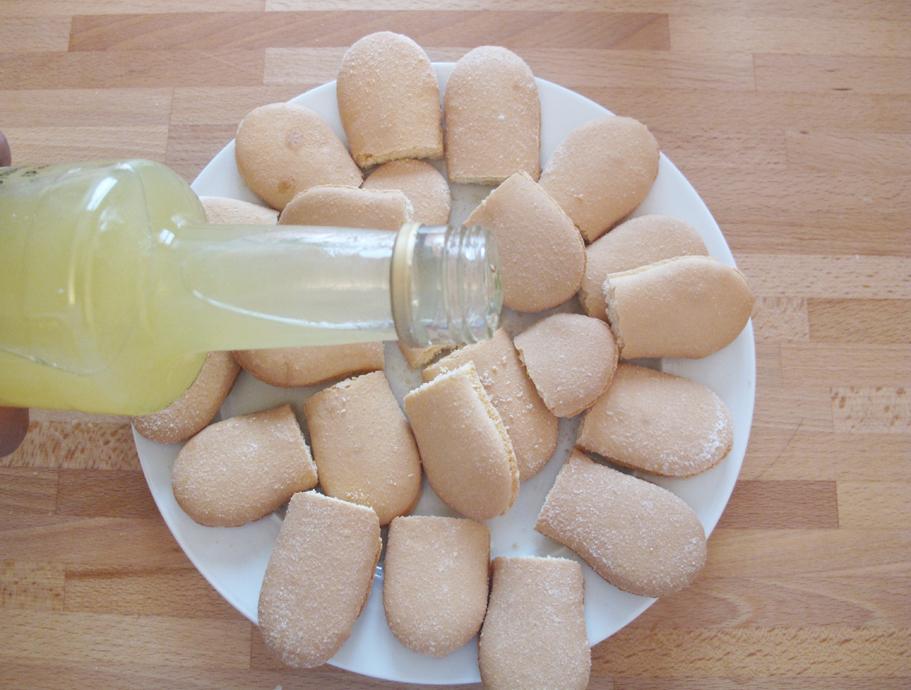 sfogliatina alla crema di limone