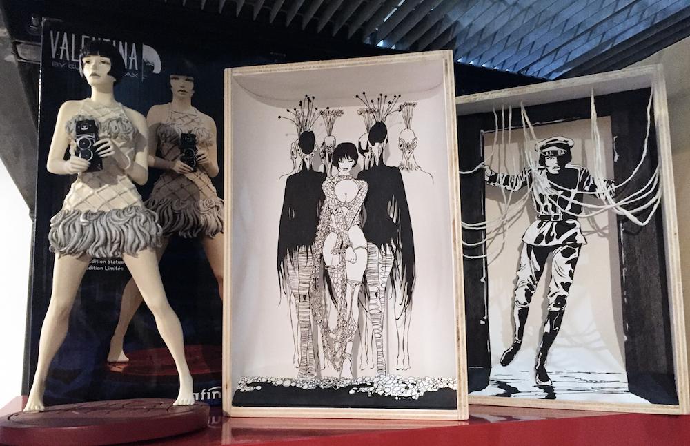 Le opere di carta di Caterina Crepax