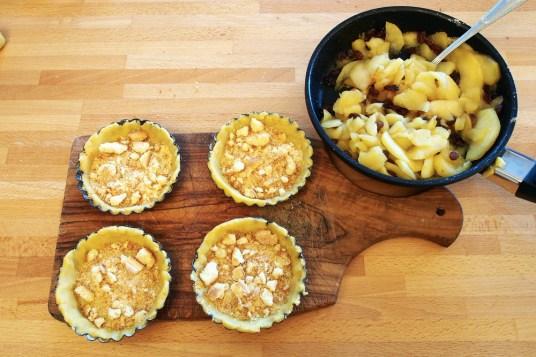 Tartellette di mele