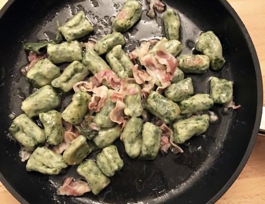 Gnocchi di patate e spinacini