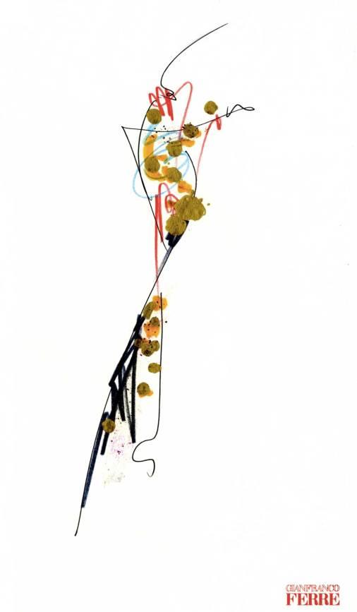 A Cremona la mostra dei disegni di Gianfranco Ferre