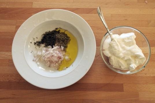 Costolette d'agnello marinate nello yogurt
