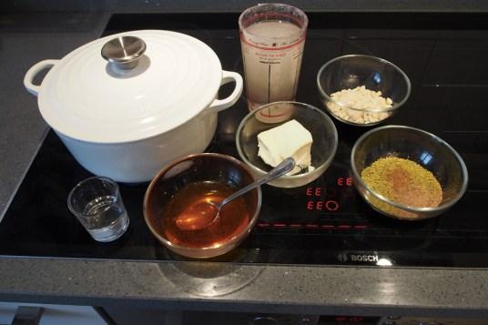 Budino di riso basmati agli aromi orientali