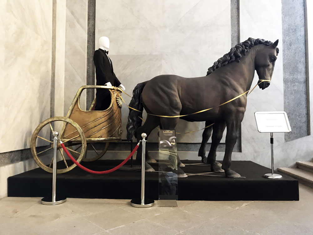 La mostra Luxus
