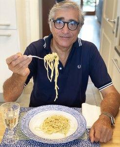 Spaghetti con colatura di alici di Cetara