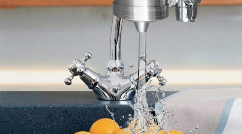 Filtro acqua rubinetto per la cucina
