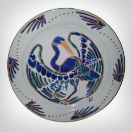 Porcelain Plate - Stork