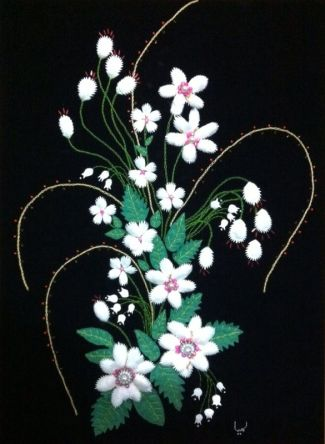 Silk Cocoon Flowers