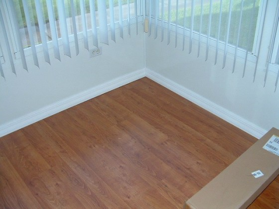 Installing Laminate Flooring in Mobile Homes Installing Base Board or Quarter Round in Mobile Homes