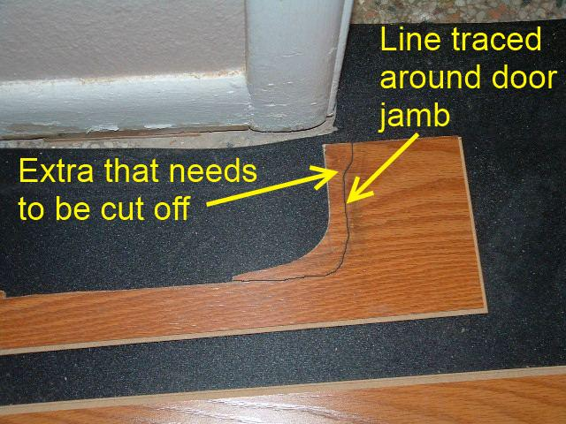 Install Laminate Flooring Around Doors
