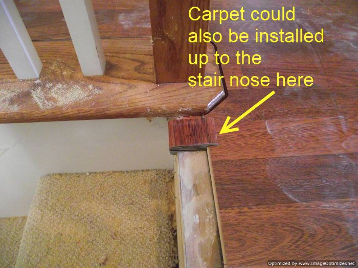 Image Result For How To Install Laminate Flooring On Stairs With Stair Nose