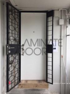 Laminate Fire Rated Main Door Single Leaf 3x7 Feet