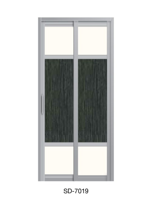 PVC Slide / Swing Toilet Door SD-7019