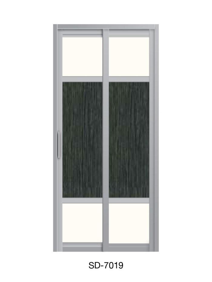 PVC Slide / Swing Toilet Door SD-7019