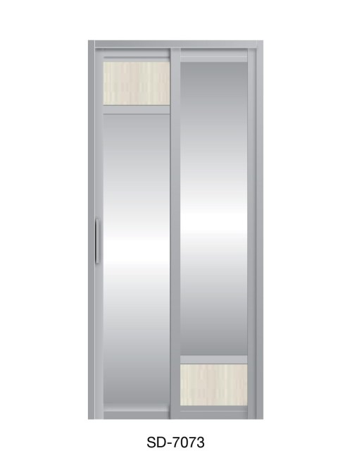 PVC Slide Swing Toilet Door SD-7073