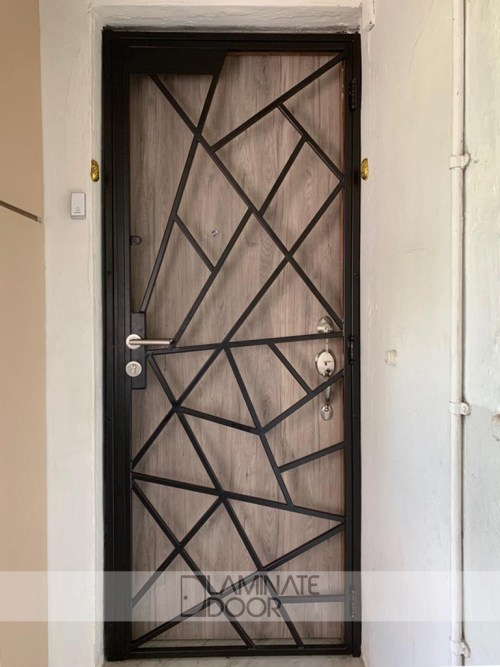 HDB-Metal-Gate-Single-Panel-LD-509