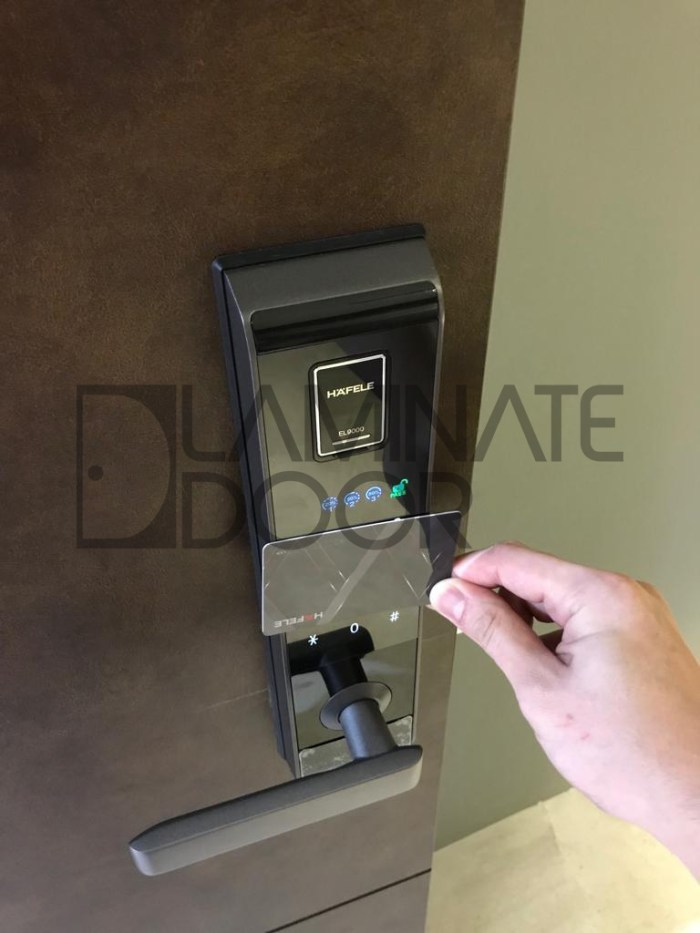 el 9000 hafele digital lock manual