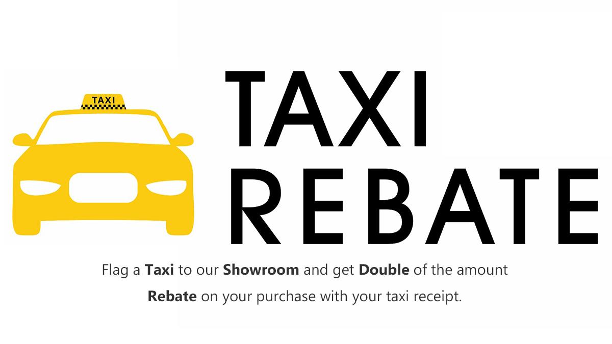Taxi Rebate