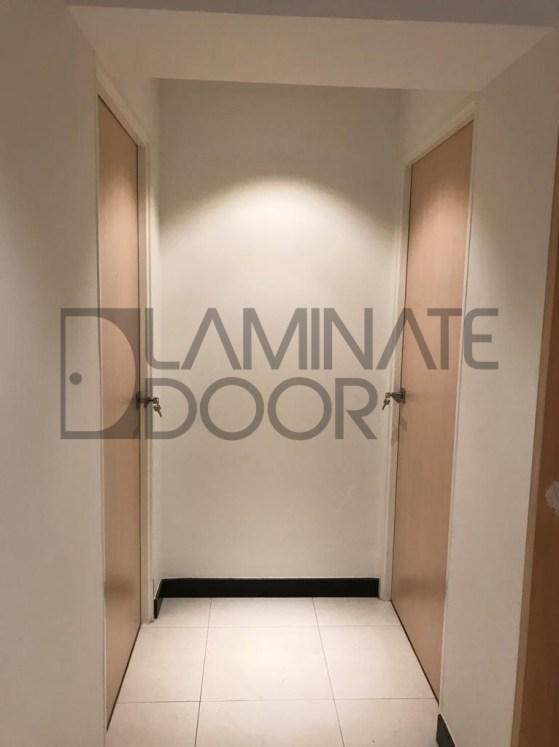 Full Solid Light Wood Laminate Bedroom Door