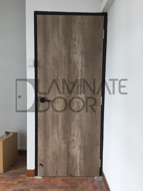 HDB Full Solid Laminate Main Door