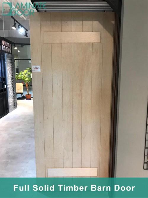 Full Solid Timber Barn Door