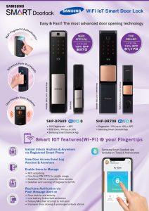 Samsung Digital Door Lock Promotion