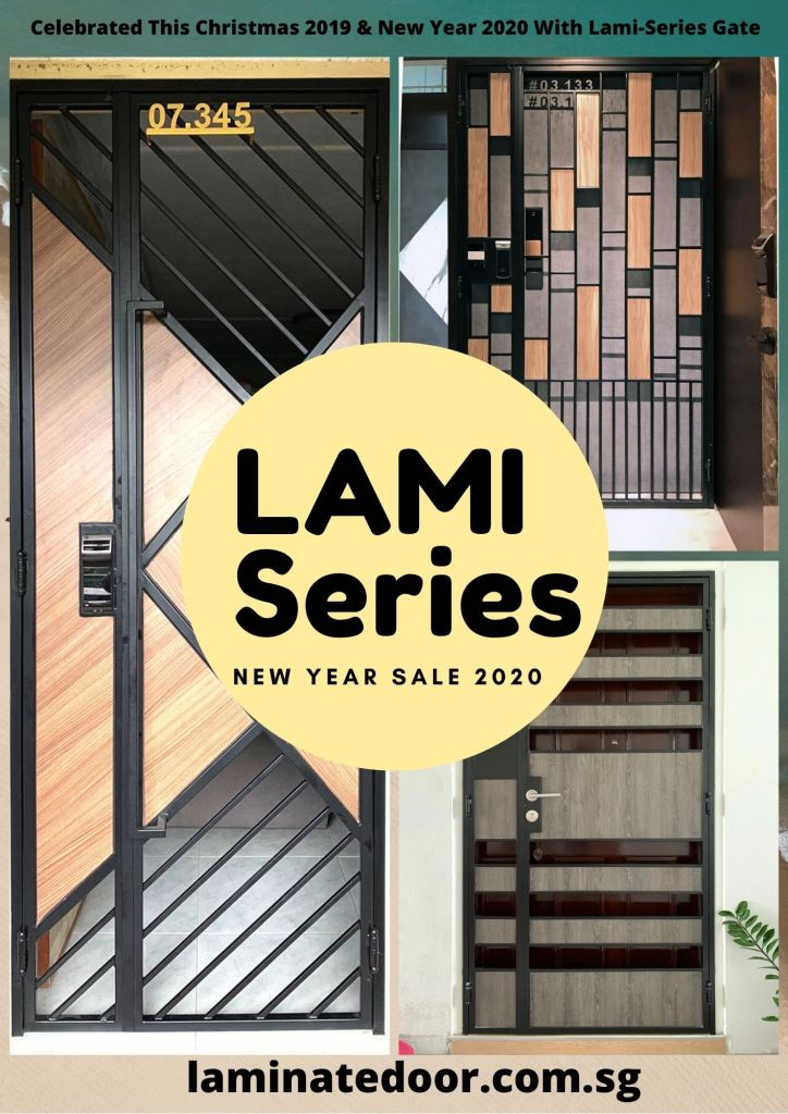 New Year Promotion Sale 2019-Singapore Lami Series