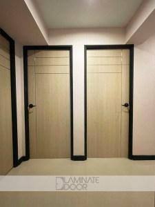 Stainless Steel Design 2 Bedroom Doors