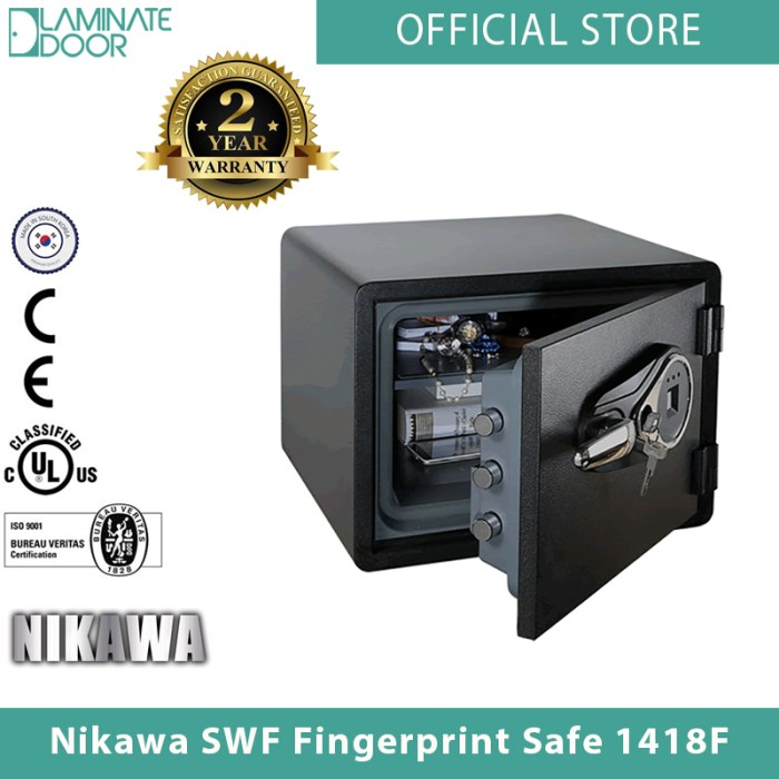 Nikawa SWF Fingerprint Safe 1418F 2