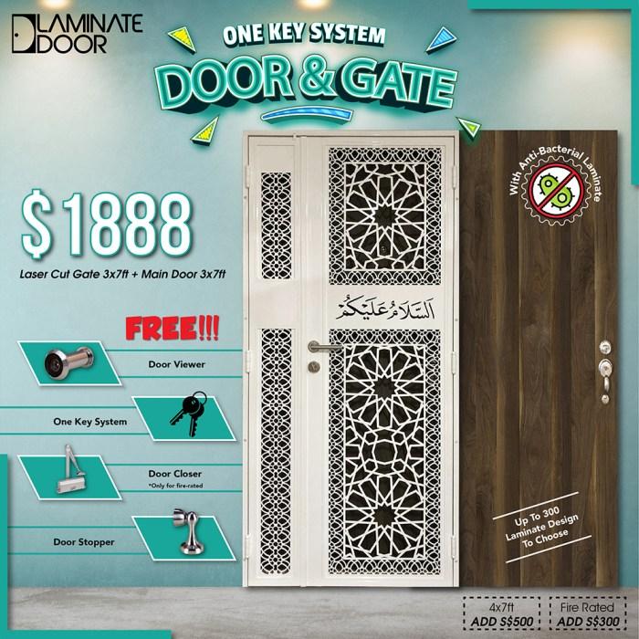 One Key System for Door & Laser Cut Promotion