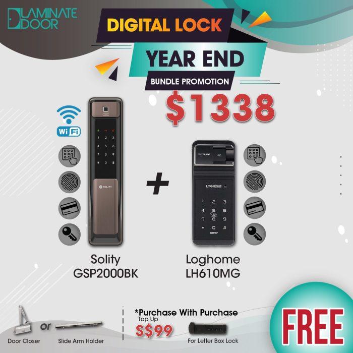 Digital Lock Bundle Promotion Sale