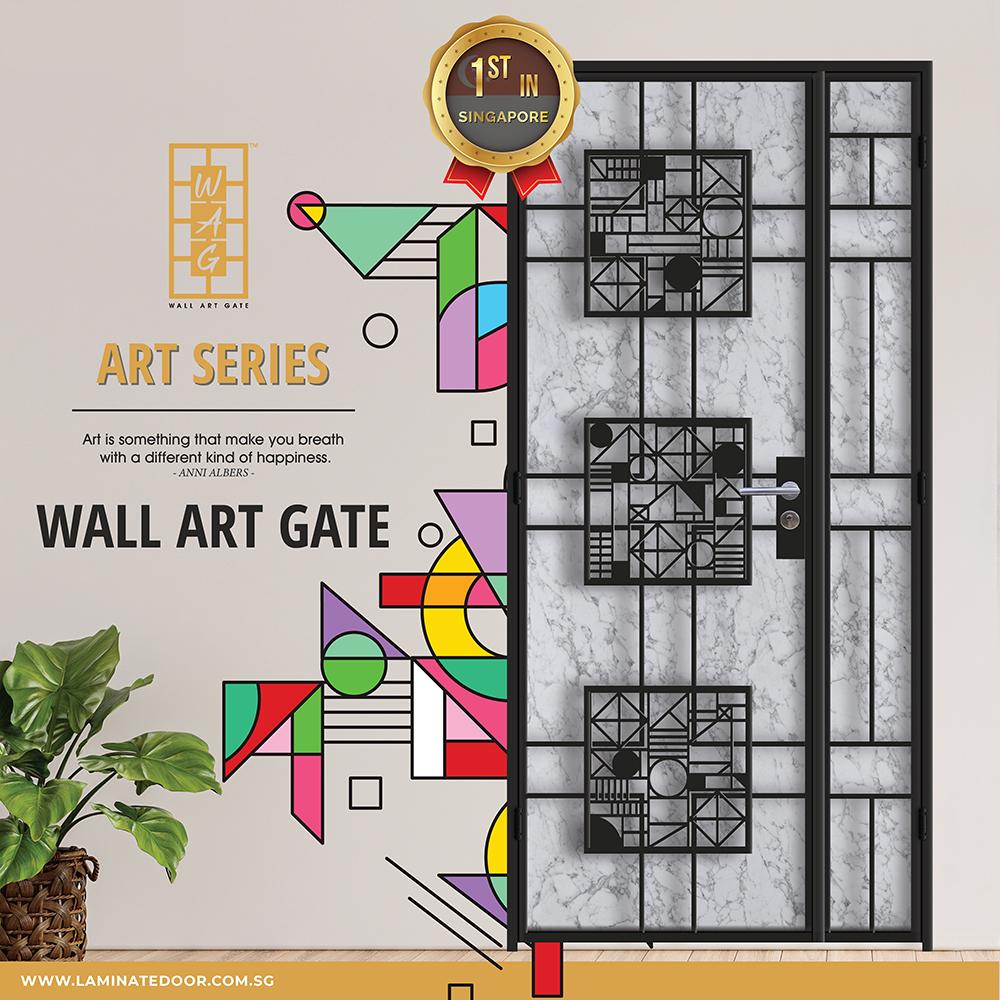 Wall Art Design Gate- Art Series