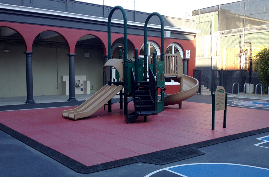 playground surface tiles