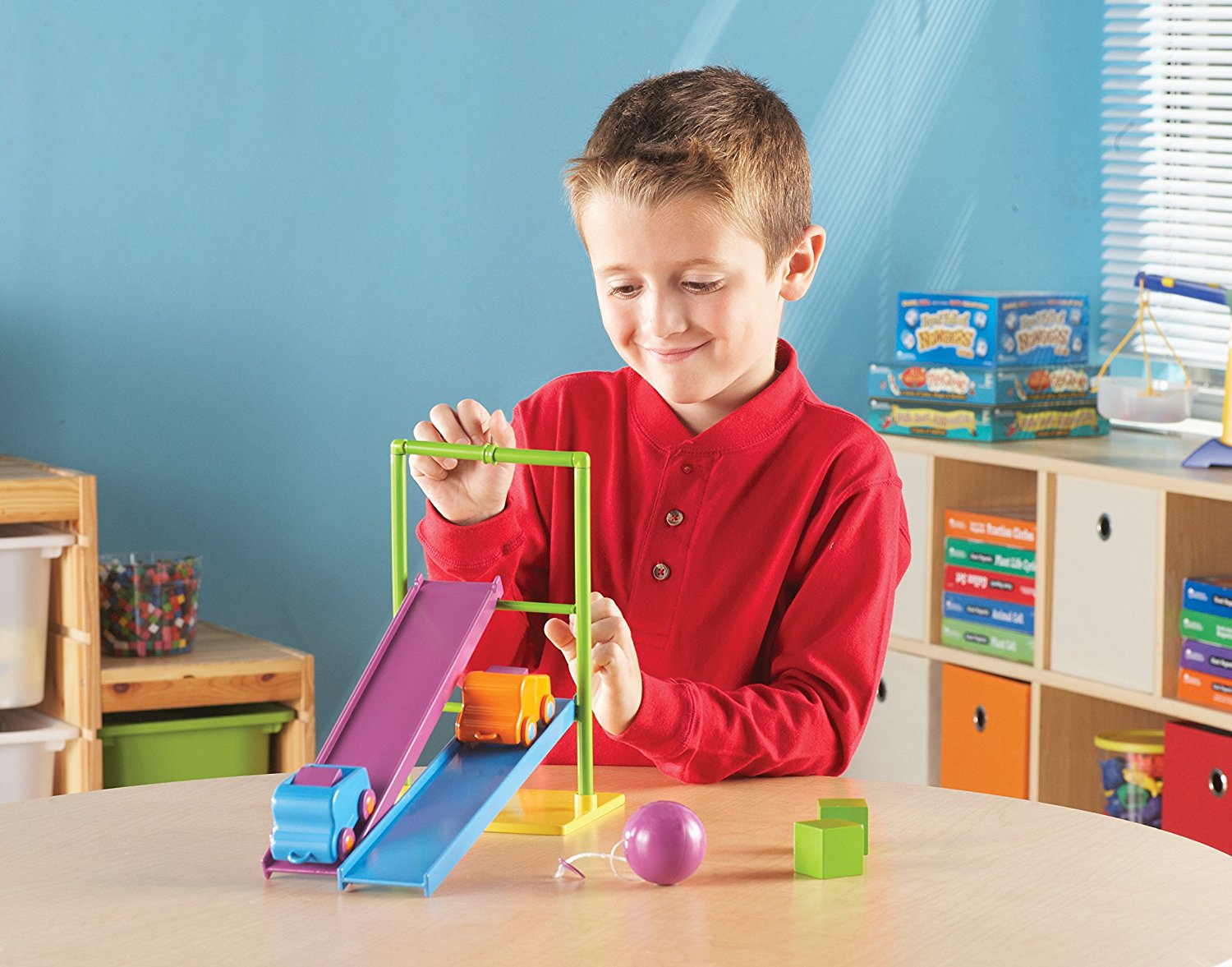 Learning Resources Stem Force Amp Motion Activity Set