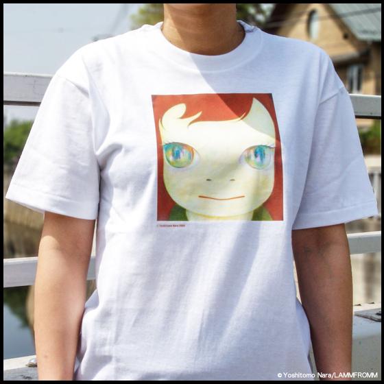 【再入荷】奈良美智xラムフロム「TIKI TIKI BAMBooooS Tシャツ」