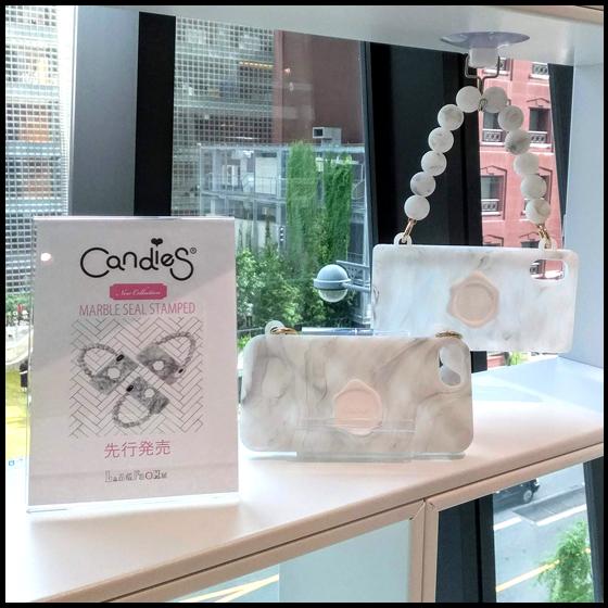 【ラムフロム HINKA RINKA 銀座店】Candies iPhone Case 先行販売