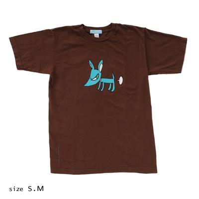 奈良美智 Tシャツ [DOGGY(ブラウン)]