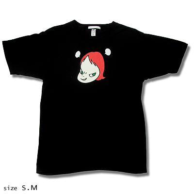 奈良美智 Tシャツ [Pun Pun '99(ブラック)]