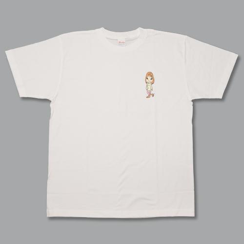 奈良美智 Tシャツ [S.M.L(ホワイト)]