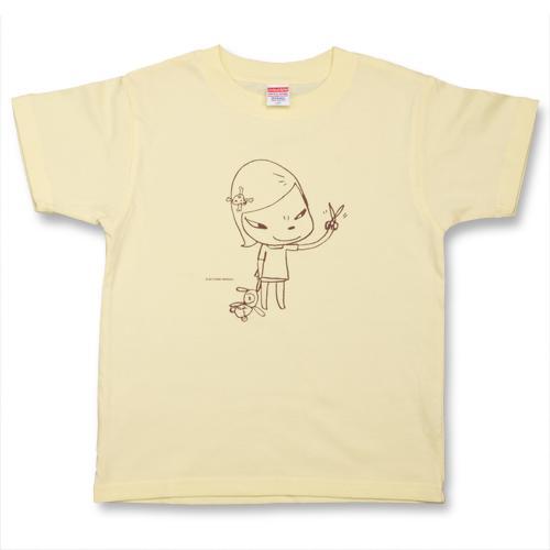 奈良美智 子供用Tシャツ [Real One(カスタード)]