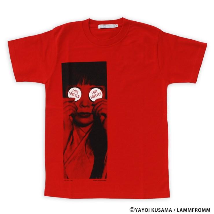 草間彌生 Tシャツ [LOVE FOREVER 1966]