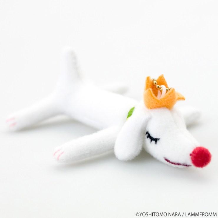【ラムフロムオリジナル】奈良美智 ぬいぐるみ [Pup King(mini)]