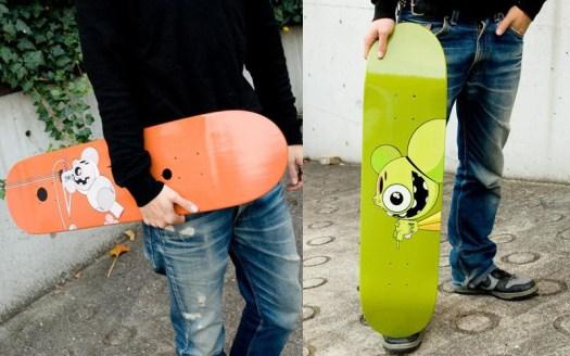 James Marshall DALEK スケートボード