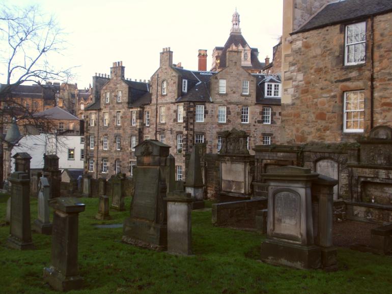 lápidas del cementerio greyfriars