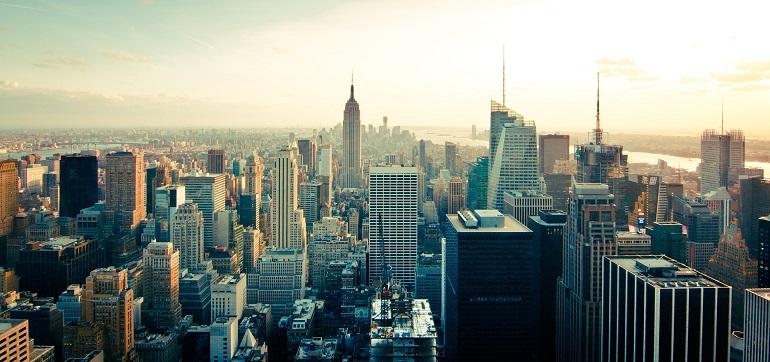 Vistas del skyline de Nueva York